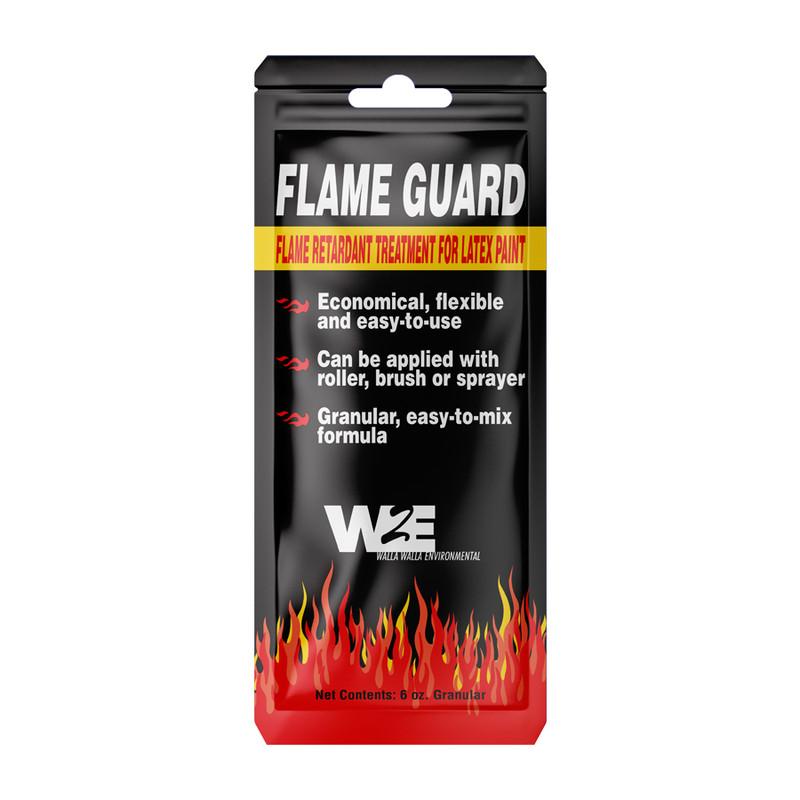 Walla Walla Environmental Flame Guard Fire Retardant Paint Additive