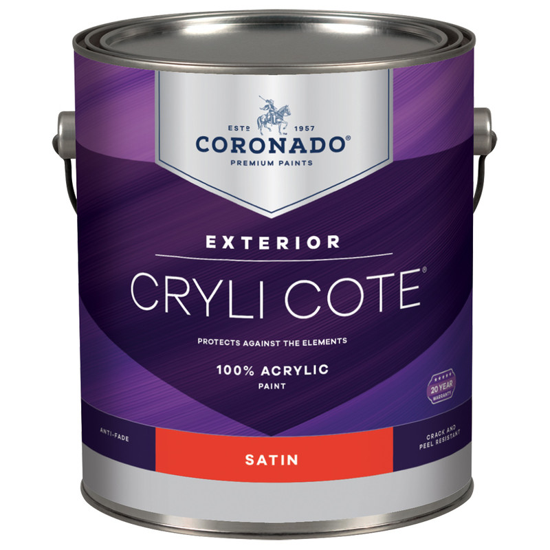 Coronado Crylicote Stain House Paint