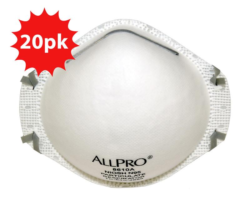 Allpro N95 Respirator Mask