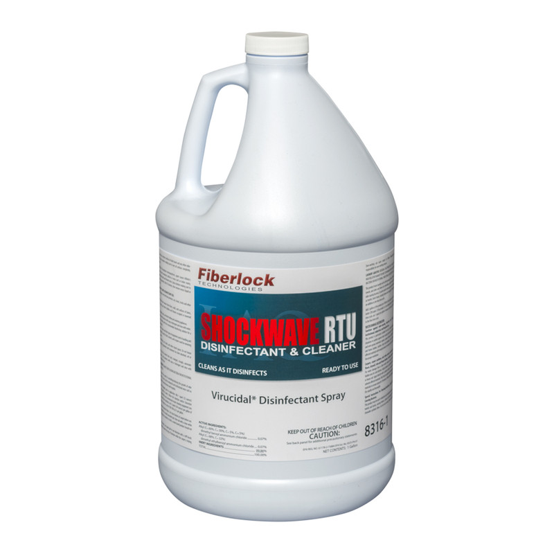 Fiberlock Shockwave Disinfectant, Sanitizer, Cleaner
