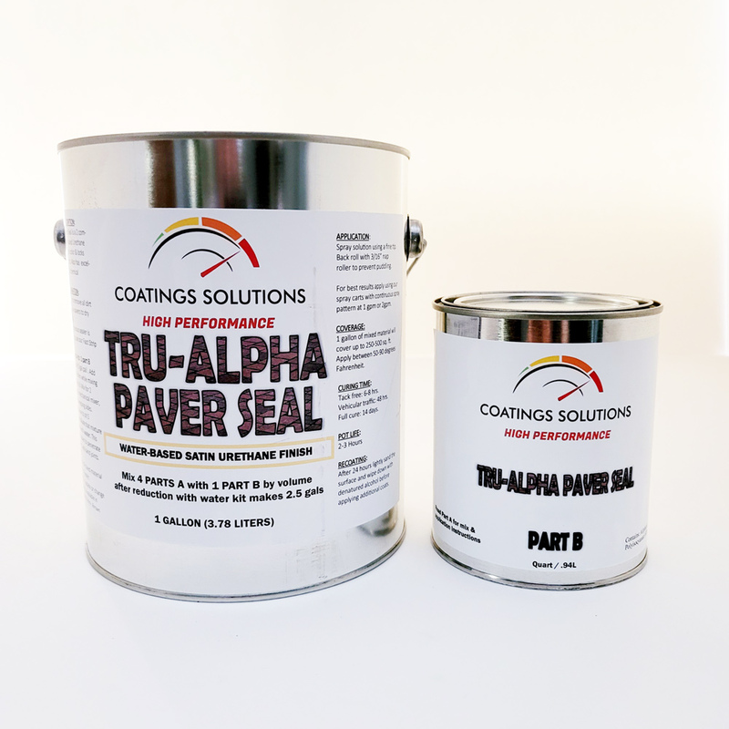 Tru-Alpha Paver Sealer