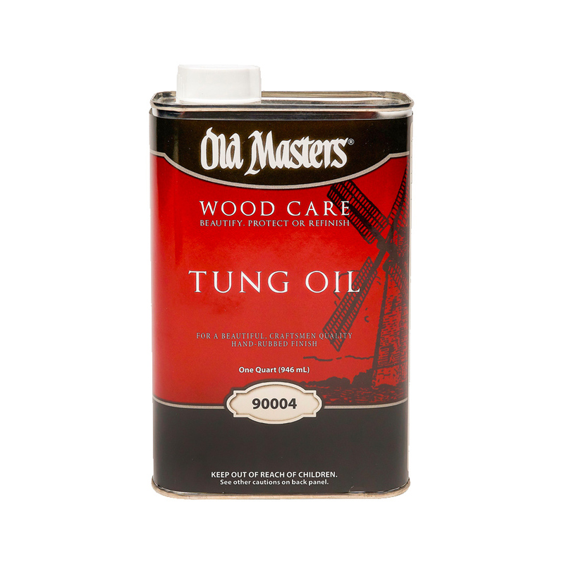Old Masters Pure Tung Oil