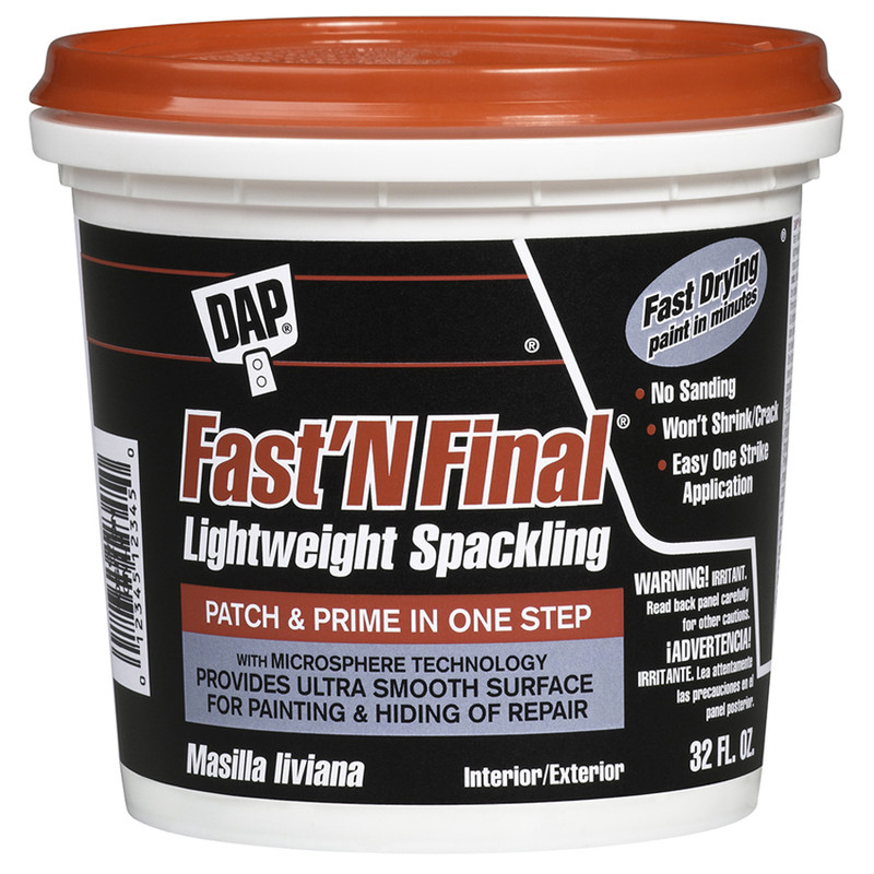 Dap Fast n Final Lightweight Spackling