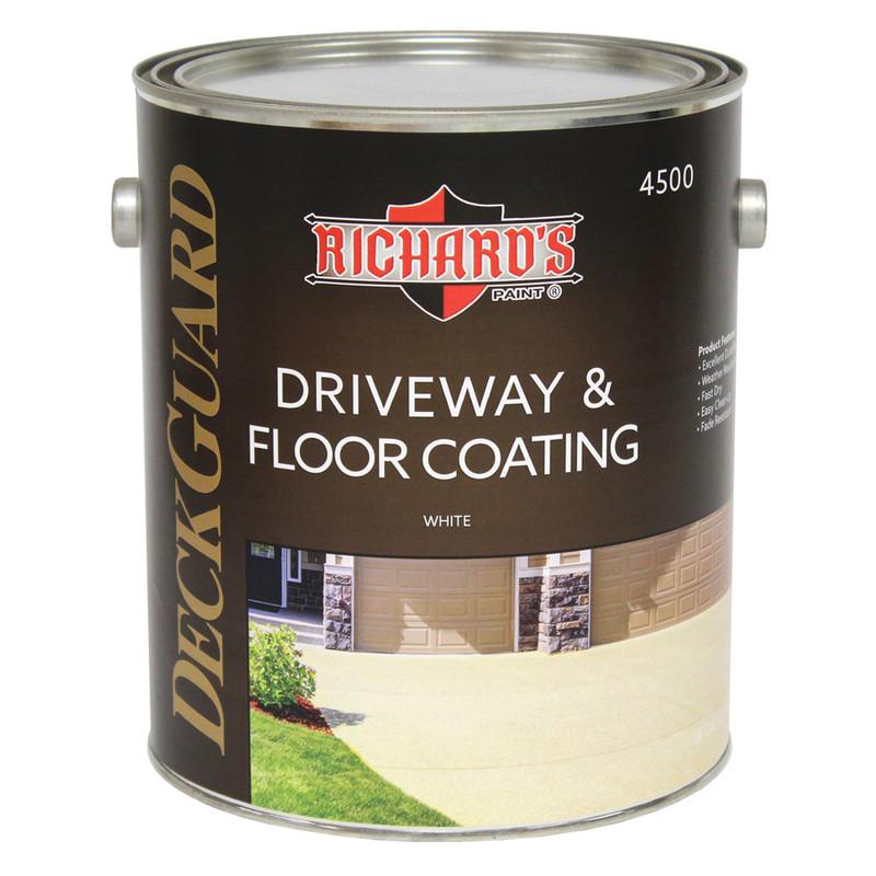 Richard's 100% Acrylic Floor & Driveway Coating 4500