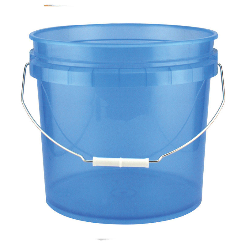Leaktite Translucent Blue Bucket
