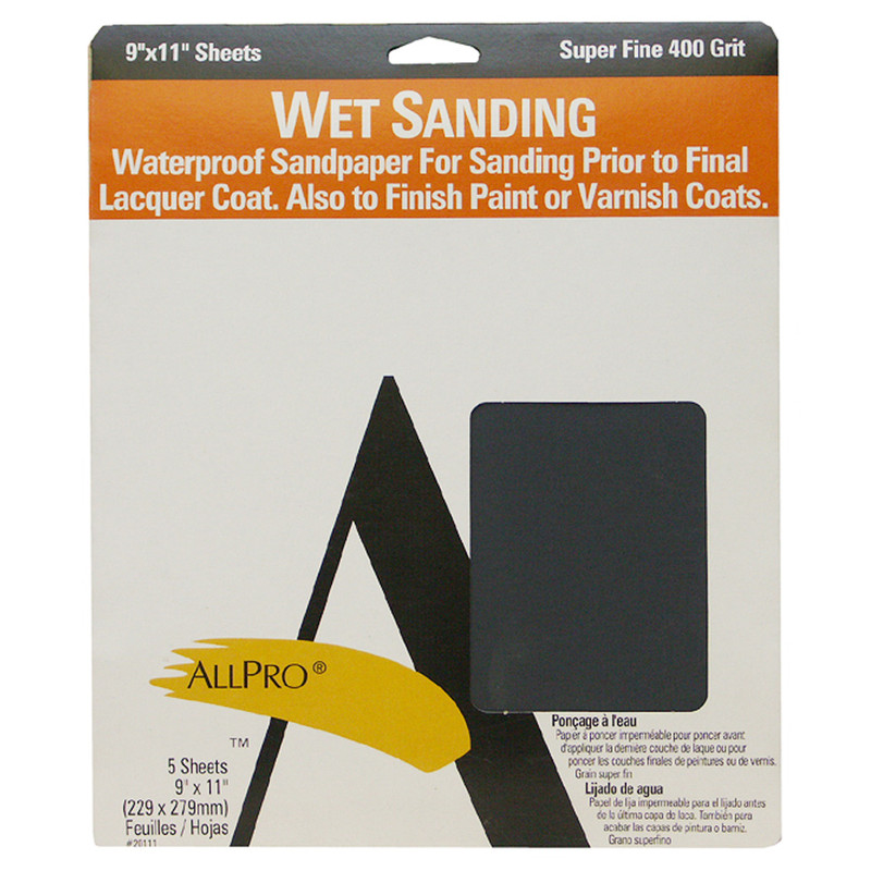 Allpro Wet or Dry Sandpaper