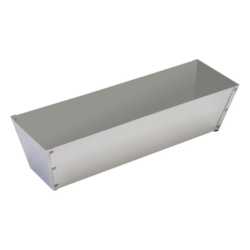 Warner Stainless Steel Mud Pan