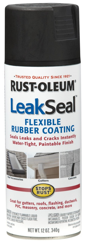 Rustoleum Leak Seal Spray Can