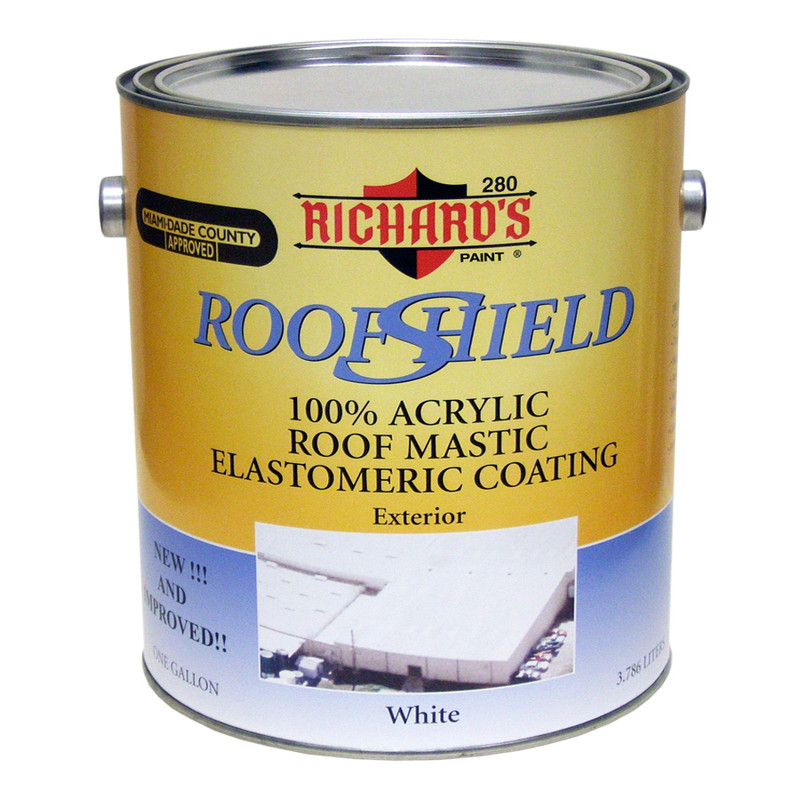 Richard's Roof Shield Elastomeric Roof Coating