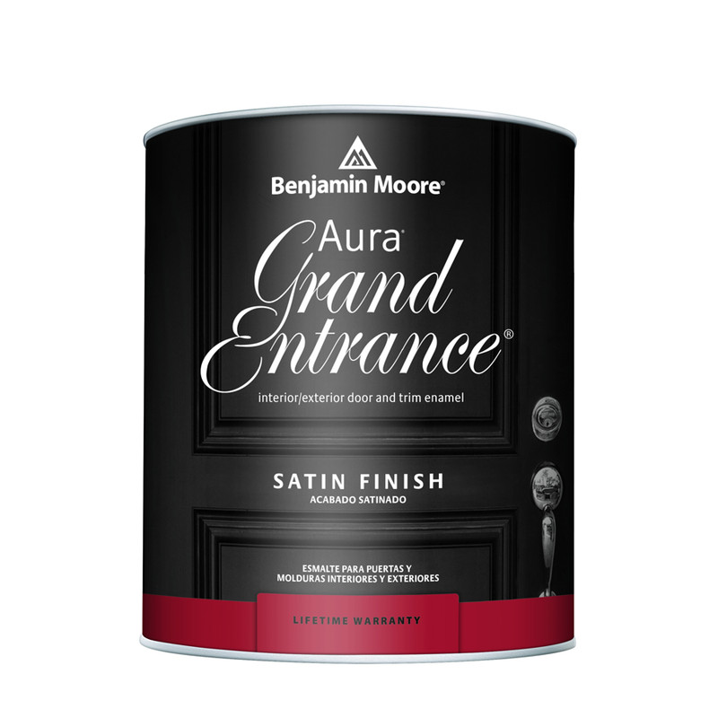 Benjamin Moore Aura Grand Entrance Satin ...