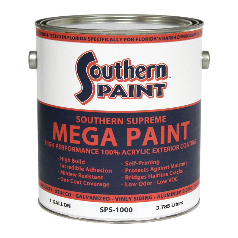 Mega Paint Exterior High Performance Coating