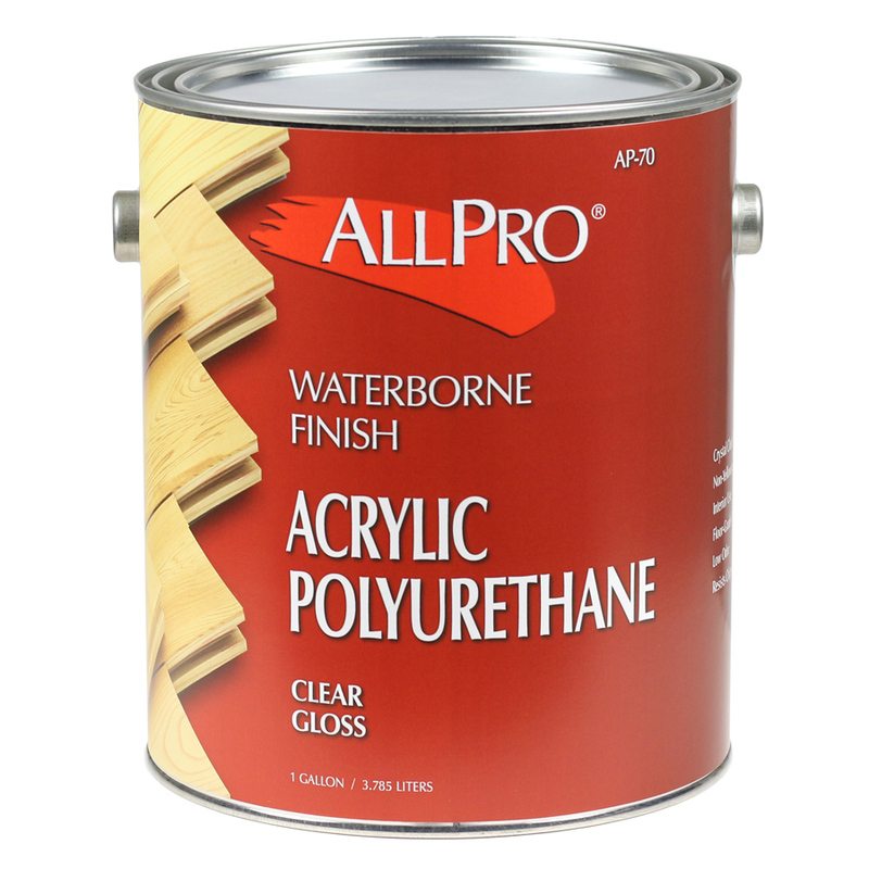 Allpro Waterborne Gloss Polyurethane