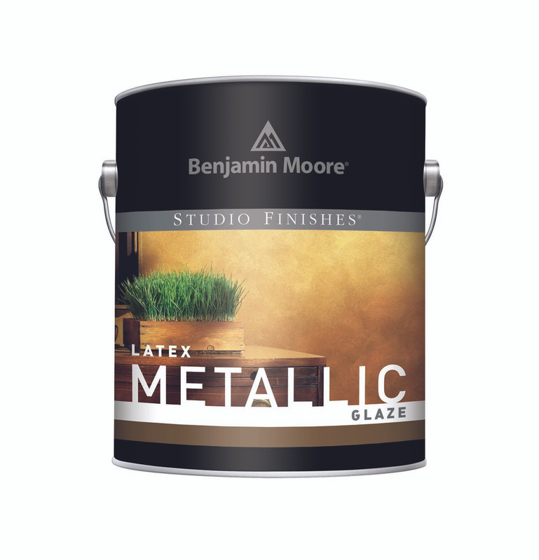Benjamin Moore Studio Finishes Metallic Glaze 620