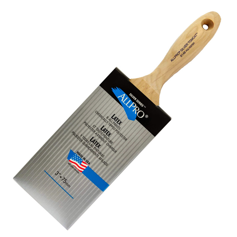 Allpro Silver Series Tomcat Paint Brush 8146