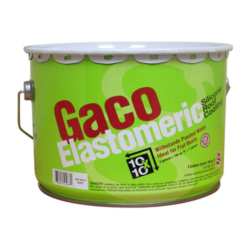 Gaco Elastomeric Roof Coating 2 Gallon Southern Paint