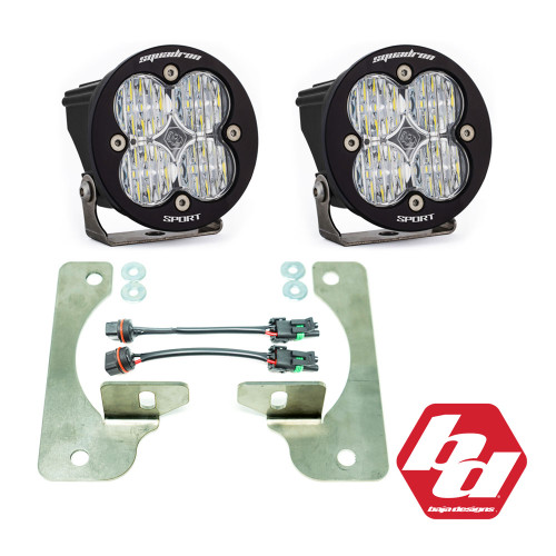JL Rubicon Fog Pocket replacement kit allows enthusiasts to retain factory fit and finish, while taking advantage of premium aftermarket LED output.
