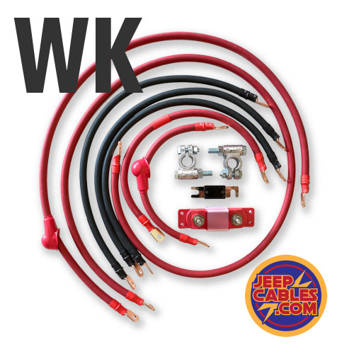 Fine-strand, SAE (Society of Automotive Engineers) approved copper cable, copper terminals crimped and sealed with marine grade heatshrink. Also included are military style corrosion resistant battery connections and an ANL fuse and holder. Every end will be labeled for ease of installation.