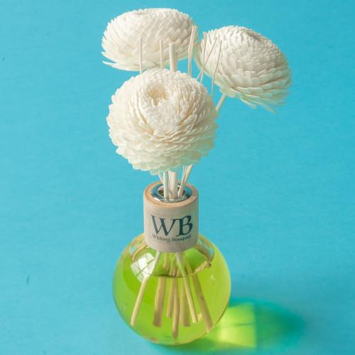Lemongrass Spa Diffuser and Flower Set