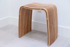 M Bamboo Spa Stool