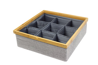 Stackable Tray with 9 Dividers