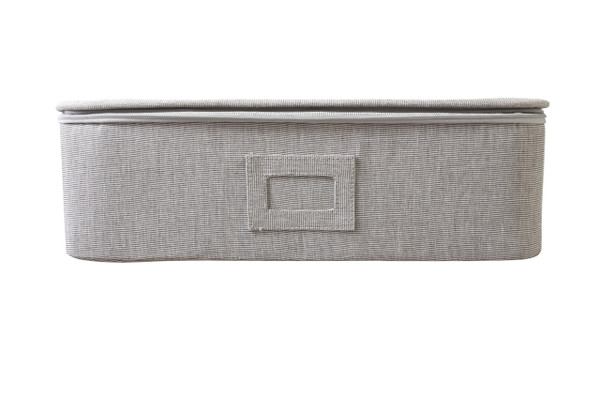 Gray Twill Organizer for Cups, Mugs and Ornaments