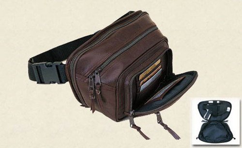 Concealed Carry Fanny Pack With Wallet Pocket