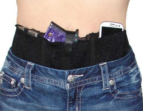 Hidden Heat Lace Waistband Holster