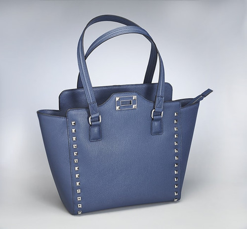 Bejeweled Blue  Concealed Carry Tote