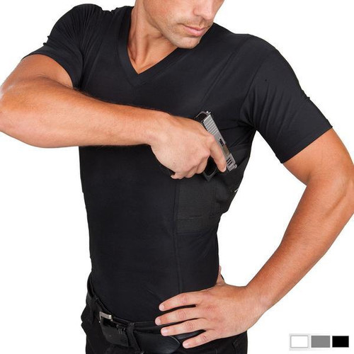 Mens Concealed Carry V Neck