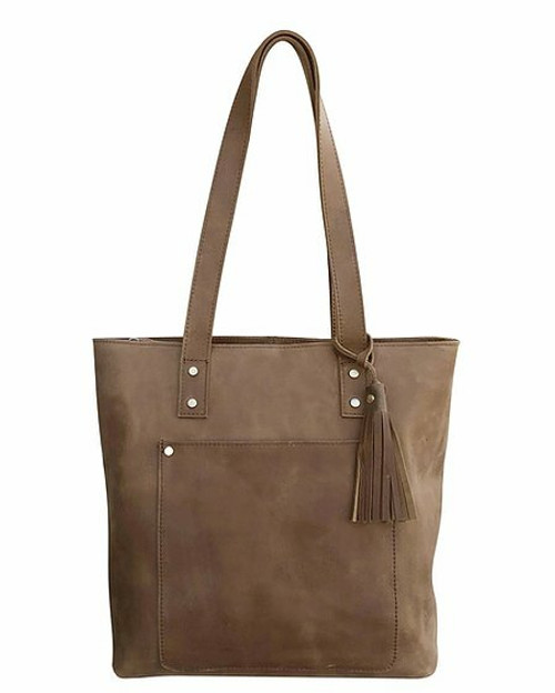 Olga Leather Concealed Carry Tote
