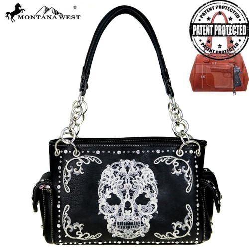 Sugar Skull Collection Concealed Handgun Handbag