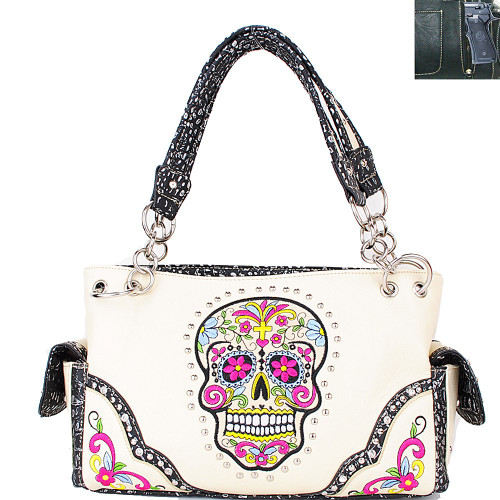 Sig Skull Collection Concealed Handgun Handbag