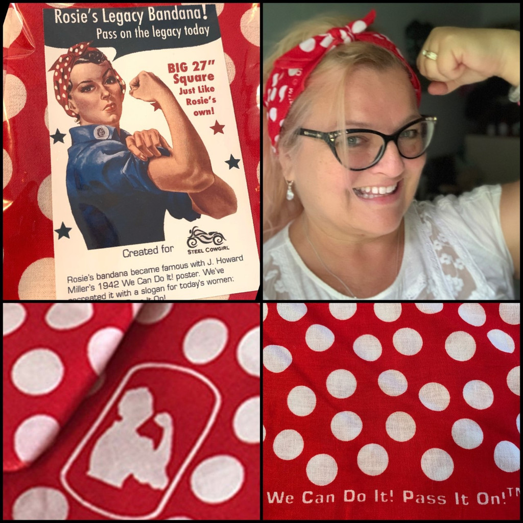 Rosie The Riveter Bandana - We Can Do It!