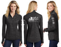 """All Over Reflective Thumbhole Wicking Shirt With """"Therapy Happens In The Wind"""" Graphics (Graphics are protected by copyright laws, unauthorized use is prohibited)"""