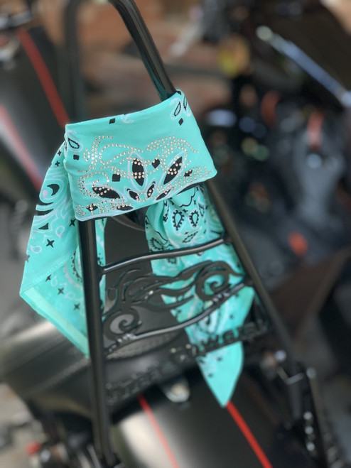 The Official Steel Cowgirl Seafoam Bandana