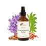 Made with Sandalwood essential oil, Lavender essential oil, Organic Rose Geranium essential oil, Turmeric essential oil, Peppermint essential oil to help reduce inflammation, pain and improve mobility
