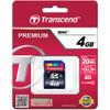 Transcend 4GB SDHC Memory Card Class 10