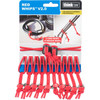 740964  Think Tank Photo Red Whips Bungie Cable Ties V2.0