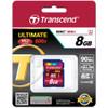 Transcend 8GB SDHC Class 10 UHS-1 Memory Card