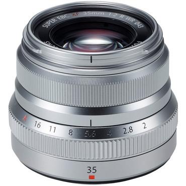 Fujifilm XF 35mm f/2 R WR (Silver)