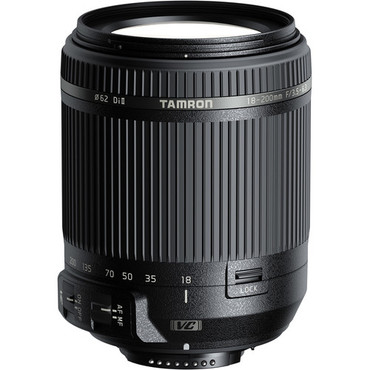 Tamron 18-200mm f/3.5-6.3 Di II VC Lens for Nikon F