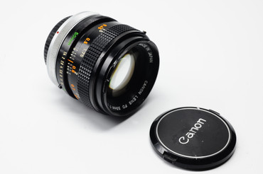 Pre-Owned - Canon 50mm FD F/1.4 SSC Man.  focus lens
