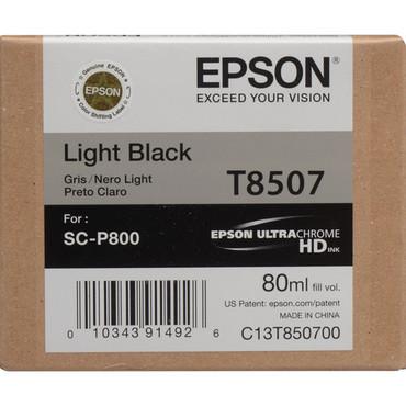 Epson T8507 UltraChrome HD Light Black  for Sc-P800