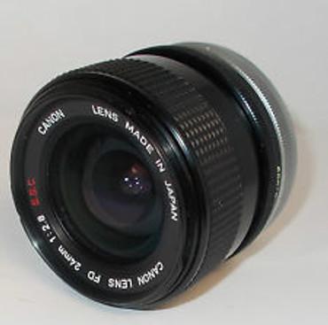 Pre-Owned Vivitar 24Mm F2.8  for Konica hexar AR  for Film camera