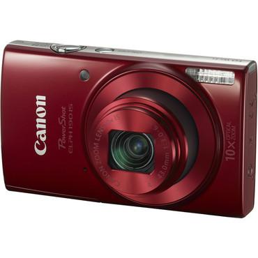 Canon PowerShot ELPH 190 IS Digital Camera (Red)