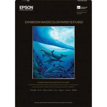 "Epson Exhibition Watercolor Paper Textured 13""x19"""