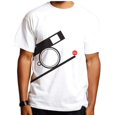 Leica Bauhaus T-Shirt (X-Large, Black on White)