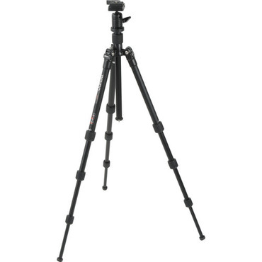 A-0680 Travel Angel Alum. Tripod With BH-00 Ball Head