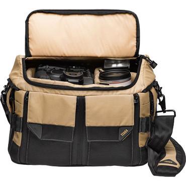 638922 Response Shoulder Bag L/Tan