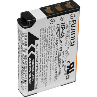 Fujifilm NP-48 Rechargeable Lithium-Ion Battery for XQ1 Digital Camera (3.6V, 1010mAh)